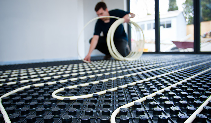 Underfloor Heating Installation in Sussex